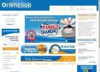 Sitio web de ORIENCOOP - SUCURSAL RANCAGUA