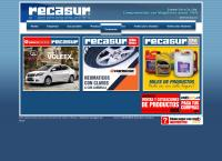 Sitio web de RECASUR Sucursal Zona Franca