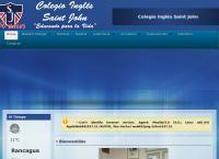 Sitio web de Colegio Inglés Saint John