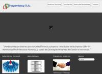 Sitio web de Serprotemp Consultores S.a