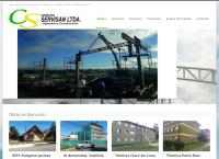 Sitio web de constructora servisan limitada