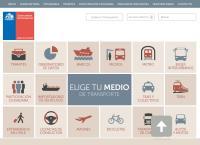Sitio web de Subsecretaría de Transportes - Sucursal Valparaíso