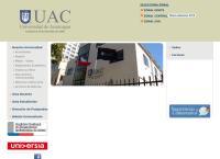 Sitio web de Universidad de Aconcagua - Sucursal Valdivia