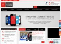 Sitio web de Universidad Autónoma de Chile - Sucursal Providencia