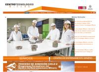 Sitio web de CTM - Sucursal Calama