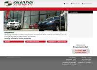 Sitio web de Automotriz Valentini