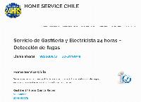 Sitio web de Home Service Chile