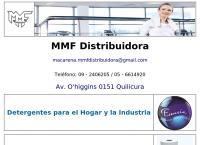 Sitio web de Mmf Distribuidora