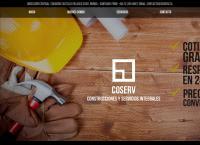 Sitio web de Coserv Ltda.