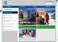 Sitio web de Aguas Cordillera S a