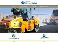 Sitio web de constructora nueva urbe ltda.