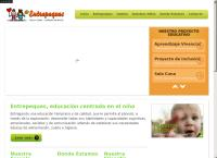 Sitio web de Entre Peques
