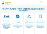 Sitio web de Gisma