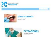 Sitio web de Clinica Dental Odontodent San Bernardo