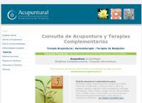 Sitio web de Acupuntural - Acupuntura & Terapias