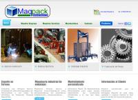 Sitio web de Maqpack Ltda