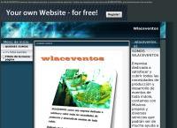 Sitio web de Wlaceventos
