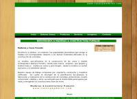 Sitio web de Maderas Pumalin