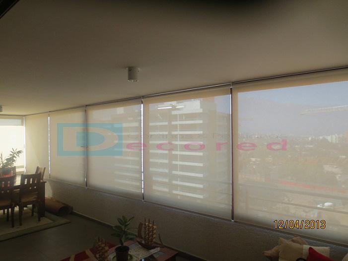 Decored cortinas y persianas santiago quillag a 3848 - Cortinas screen opiniones ...