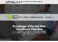 Sitio web de Psicologo Humberto Mendez